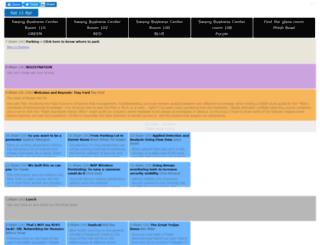 bsidesnash2015.busyconf.com screenshot