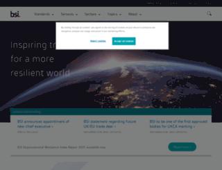 bsigroup.co.in screenshot