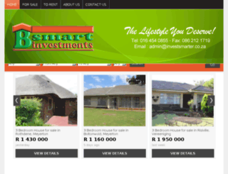 bsmartproperties.co.za screenshot