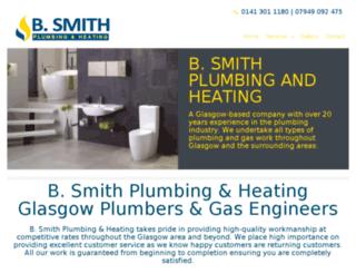 bsmithplumbing.com screenshot