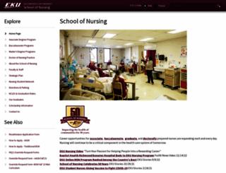 bsn-gn.eku.edu screenshot