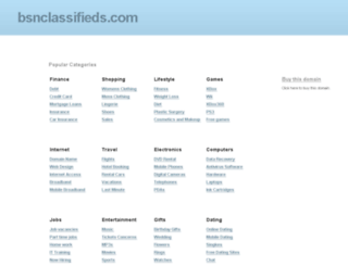 bsnclassifieds.com screenshot