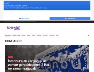 bsnhaber.com screenshot