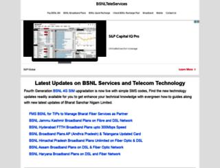 bsnllive.info screenshot