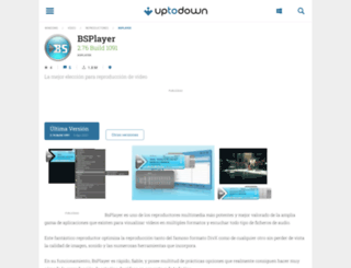 bsplayer.uptodown.com screenshot