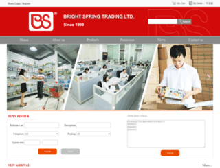 bspringtr.com screenshot
