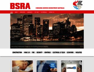 bsra.com.au screenshot