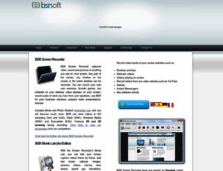 bsrsoft.com screenshot