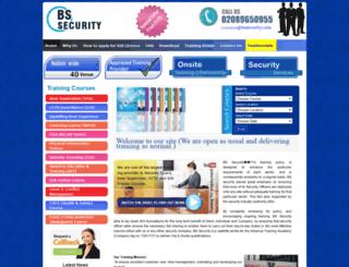 bssecurity.com screenshot