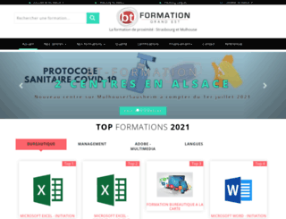 bt-formation.fr screenshot