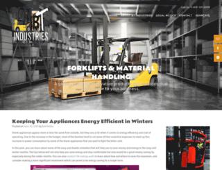 bt-industries.com screenshot