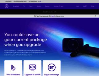 bt.com screenshot