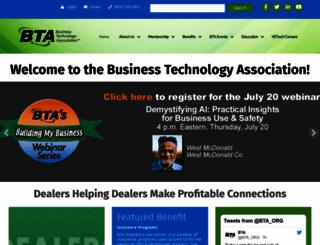 bta.org screenshot