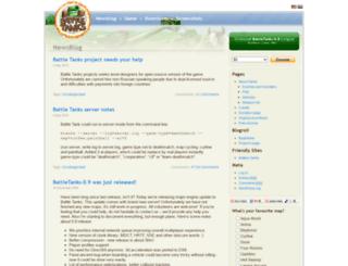 btanks.sourceforge.net screenshot