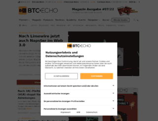 btc-echo.de screenshot