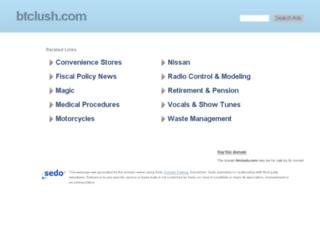 btclush.com screenshot