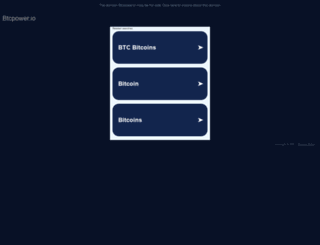 btcpower.io screenshot