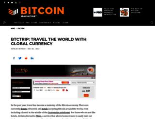 btctrip.com screenshot