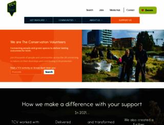btcv.org screenshot