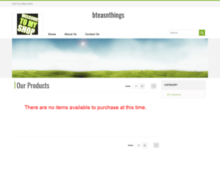 bteasnthings.webstoreplace.com screenshot