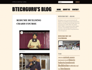 btechguru.wordpress.com screenshot