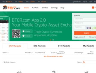 bter.com screenshot