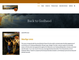 btg.krishna.com screenshot