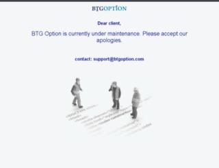btgoptions.com screenshot