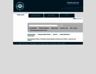 bth.diva-portal.org screenshot