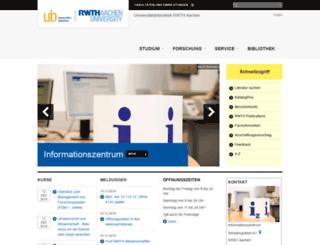 bth.rwth-aachen.de screenshot