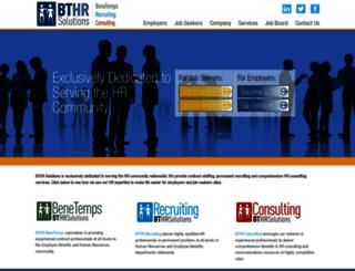 bthrsolutions.com screenshot