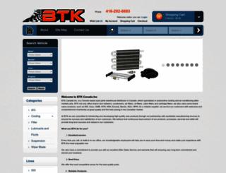 btkcanada.com screenshot