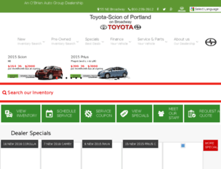 btoyota.wpengine.com screenshot