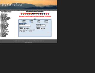 btravel.biz screenshot