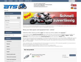 bts-motorradteile.de screenshot