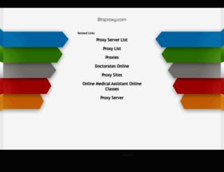 btsproxy.com screenshot