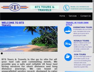 btstravelsonline.com screenshot