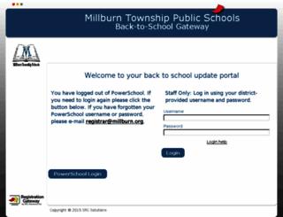 btsupdate.millburn.org screenshot