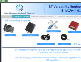 btversatilityengineers.webeden.co.uk screenshot