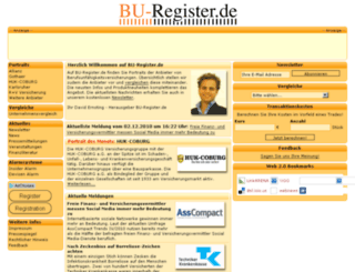 bu-register.de screenshot