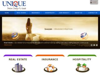 bu.uniquelifecare.com screenshot