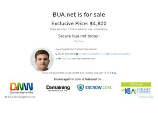 bua.net screenshot
