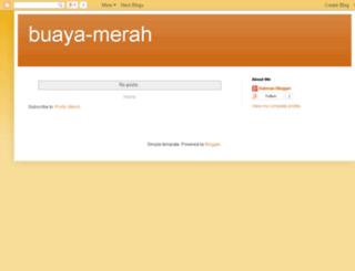 buaya-merah.blogspot.com screenshot