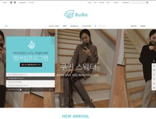 buba.co.kr screenshot