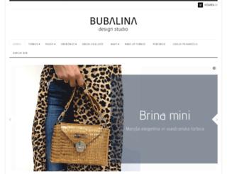 bubalina.si screenshot