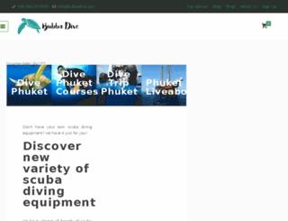 bubbadivingphuket.com screenshot