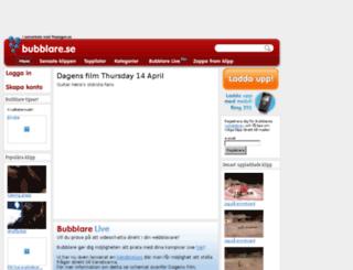 bubblare.se screenshot