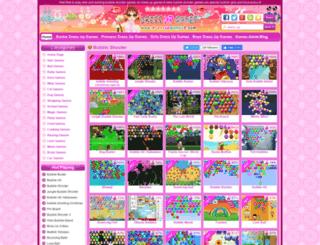 bubble-shooter.dressupgames8.com screenshot