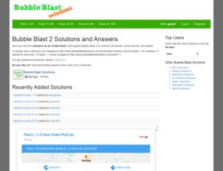 bubbleblastsolutions.com screenshot