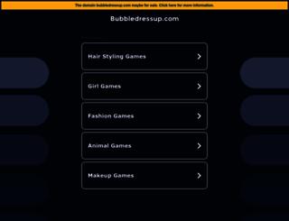 bubbledressup.com screenshot